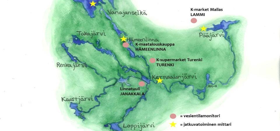 Vesientilatieto Loytyy Nyt Kauppojen Monitoreista Vanajavesikeskus